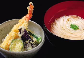 夏野菜天丼とうどん.jpg